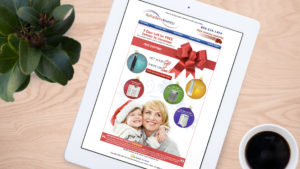 Air Purifiers America holiday email campaign