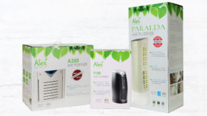Alen Air Purifiers Packaging